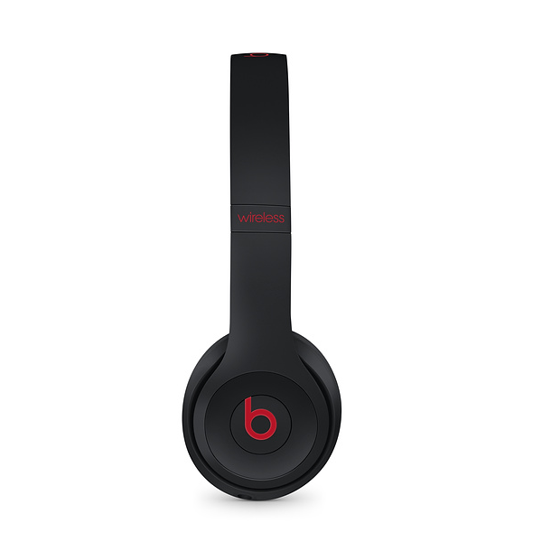 Beats Solo3 Wireless On-Ear Headphones – The Beats Decade Collection – Defiant Black-Red