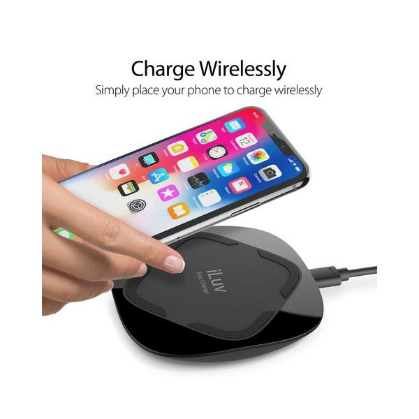 iLuv Qi Fast Wireless Charger 10W